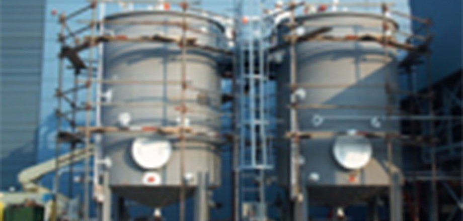 Photo of storage tanks at Idemitsu Lubricants | Expand Production Capacity