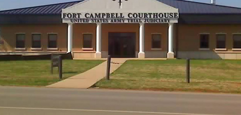 Photo of Fort Campbell Courthouse for Bomb Blast Assessment