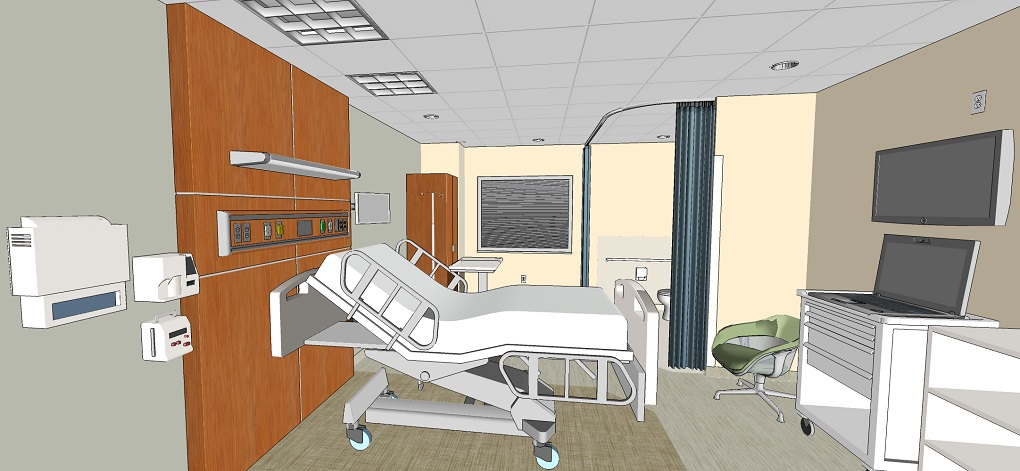 New ICU/Surgery/Medical Unit at the Lebanon VA Medical Center