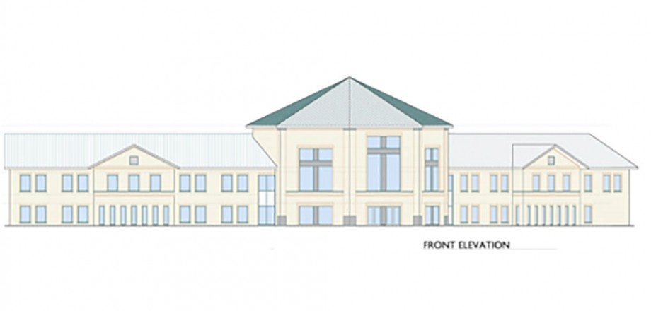 Rendering of Abundant Life Missionary School | Mechanical Design
